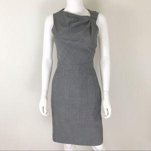 Banana Republic Gray Size 4 Shift Dress Lined
